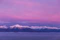 Laural Sabin's Watercolor Sunset, Kachemak Bay